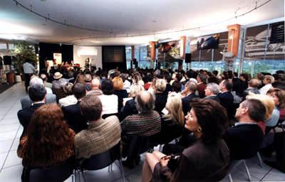 Dr. Mainini presents Introduction to Feng Shui live at Jaguar AutoDealer, Innsbruck, AT